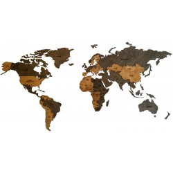 WORLD MAP 2 LAYERS OF...