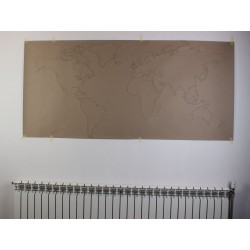 Template for world map -...