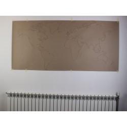 Vorlage für Weltkarte -...